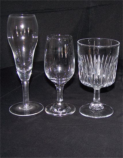 Masterpiece Rentals provides glassware rentals for parties in Elkins, WV