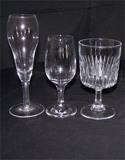 Masterpiece Rentals provides glassware rentals for parties in Elkins, WV