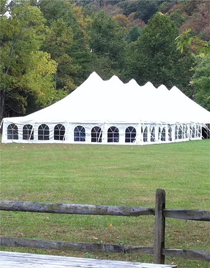 Masterpiece Rentals provides party tent rentals in Elkins, WV