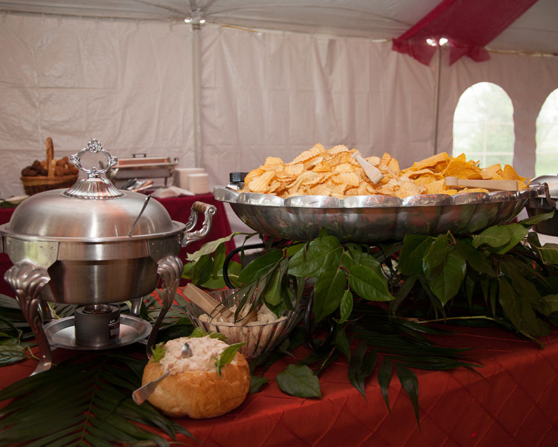 Masterpiece Rentals provides wedding catering services in Elkins, WV