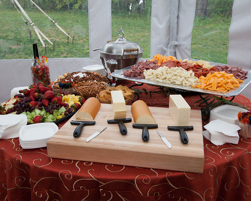Experienced event caterers provide a variety of options for events in West Virginia